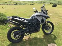BMW F 800 GS, 2008. 8700 miles FSH, immaculate condition with BMW fitted extras.