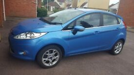 Blue Ford fiesta for sale
