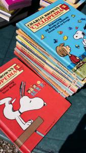 Charlie Brown Ecyclopedia full set