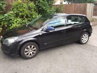 Black Vauxhall Astra 54 plate