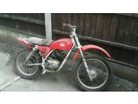 Italijet with spare engine very rare bike it's a old school crosser