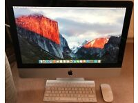 Apple iMac 21.5-inch. 3.06GHz Intel Core 2. 4GB RAM. 500GB Storage. Late 2009.