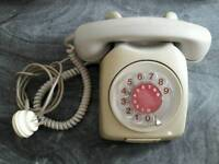 Vintage analogue retro phone