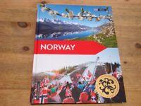 Norway Hardback book, brand new. Unwanted gift.