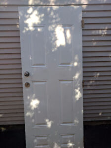 Fireproof Door (White)
