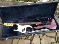 Fender Precision Bass (Mex.) Candy Apple Red