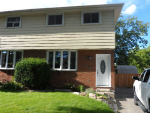 SPACIOUS 4-BEDROOM OSHAWA SEMI-DETACHED HOME FOR RENT