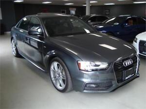 2013 Audi A4 Premium Plus. 6 Speed. Navigation. Rear Camira.