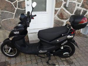 Scooter électrique presque neuf Gio Italia SE 500w noir