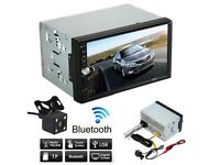 "7"" Double Din Car Stereo Digital Media Receiver"
