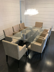FOR SALE - Glass Dining Table