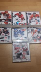 NHL 08 à 14 pour PS3