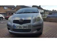 TOYOTA YARIS 1000CC YEAR 2006 NEW SHARP, 1 OWNER, 84K F/S/H, 11 MONTH MOT, HPI CLEAR 100%