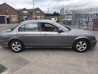 2001 Jaguar S Type automatic, starts and drives superb, full leather, 76,000 miles, ice cold air con