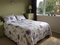 Almost new double bed quilt comforter and pillowcases