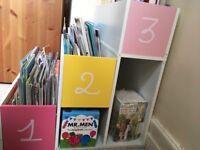 Useful yet attractive children's bookcase
