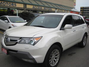 2009 Acura MDX, Extra Clean, Must Be Seen, Beautiful White