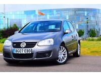 2007 VW GOLF GT TDI 170 BHP AUTO DSG*SERVICE HISTORY*3 MONTHS WARRANTY*HIGH SPEC*NEW MOT*PARKING AID