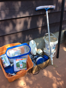 pool supplies and chemicals