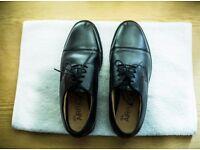 Men shoes : M&S COLLECTION Black Men's Leather Shoes Size 10