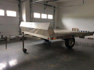 2012 Aluma Double Tilt Deck Trailer