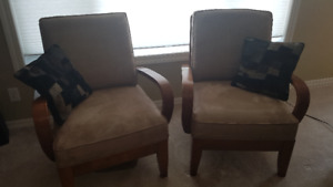 Two chairs - very comfortable, excellent condition