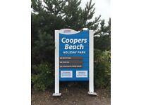 ☀️☀️ SIZZLING SUMMER SALE! ☀️☀️ STATIC CARAVAN AT COOPERS BEACH, MERSEA ISLAND! HUGE SAVINGS £££