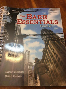 The Bare Essentials - Form A