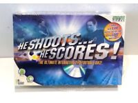 HE SHOOTS...HE SCORES! - THE ULTIMATE INTERACTIVE DVD FOOTBALL QUIZ