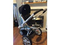 Quinny moodd black & white lovely pushchair