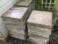 20 plus 18x18 paving slabs