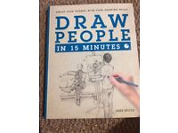 Draw People in 15 Minutes Art Book
