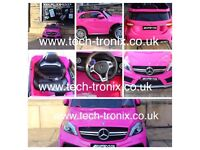 Mercedes A45 Available In Pink/White, Parental Remote Or Self Drive
