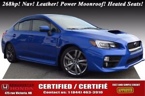 2016 Subaru WRX Limited/Sport Tech Package Turbo - 268hp! Nav! L