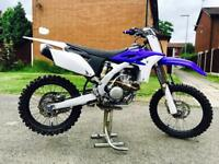 2014 YZF 250 *EXCELLENT BIKE* MANY TRICK BITS* EXCEL RIMS NEW TYRES*DEP PIPE*