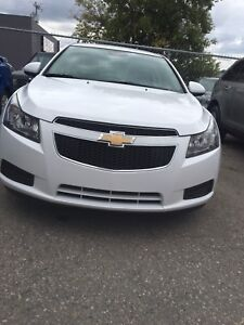 2013 Chevy Cruize LT 1.4 turbo back up camera  leather
