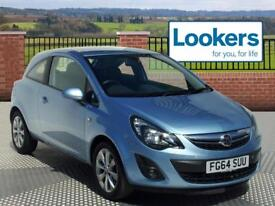 Vauxhall Corsa EXCITE AC (blue) 2014-10-14
