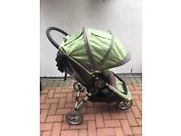 Baby Jogger City Mini single stroller in green