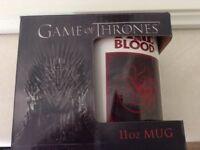 Brand New Game of Thrones Targaryen Mug