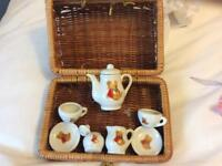 Tiny tea set