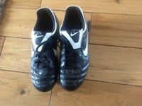 Nike football boots size 4