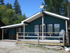 Cabin at Moyie Lake