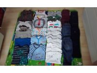 Bundle baby clothes 12-24monts