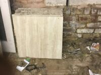New 8 x Marble Floor Tiles for Sale 600 x 600 mm