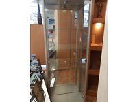 Glass display unit