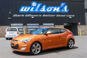 2012 Hyundai Veloster LEATHER! NAVIGATION! SUNROOF! HEATED SEATS
