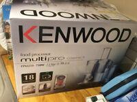 Kenwood Food Processor FPM250 brand new still in box