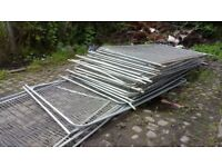 HERAS FENCING 3450mm X 2000mm 200s available.