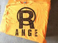 Original LEVIS Orange T-Shirt Size L