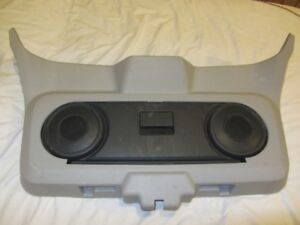 Dodge Caliber Rear Hatch Moulding and Drop Down Hatch Speakers